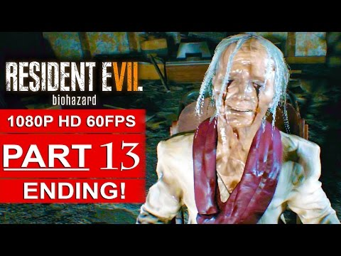 RESIDENT EVIL 7 ENDING Gameplay Walkthrough Part 13 [1080p HD 60FPS] - No Commentary