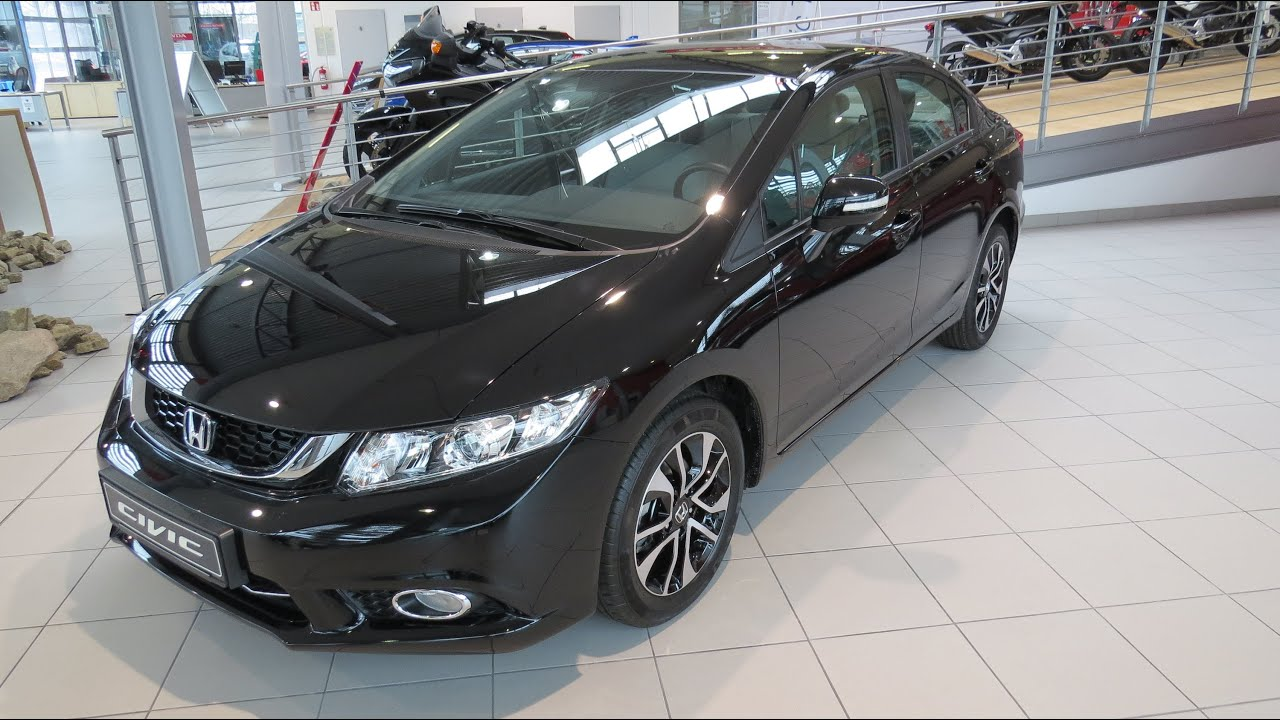 Honda Civic Sport 2015 2015 Honda Civic Limousine 1.8 i-VTEC Comfort - YouTube