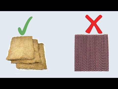 which is the best cooling for Air cooler wood wool pad or honeycomb pad