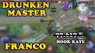 WHEN YOU ARE DRUNK (?) AND PLAY FRANCO | MOBILE LEGENDS