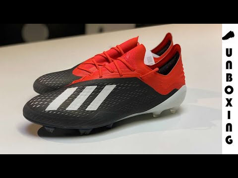 buy online 23e02 63839 adidas X 18.1 FG/AG Initiator - Core Black/Footwear White/Action Red