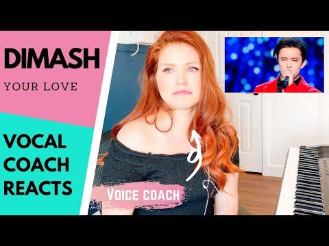 "VOCAL COACH REACTS - Dimash Kudaibergen ""Your Love"""