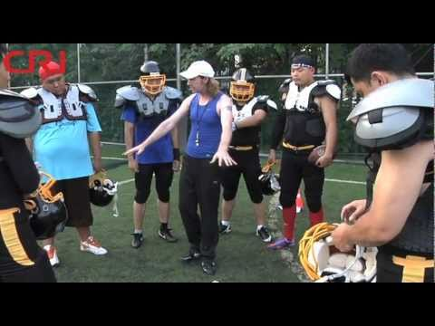 American Football in China