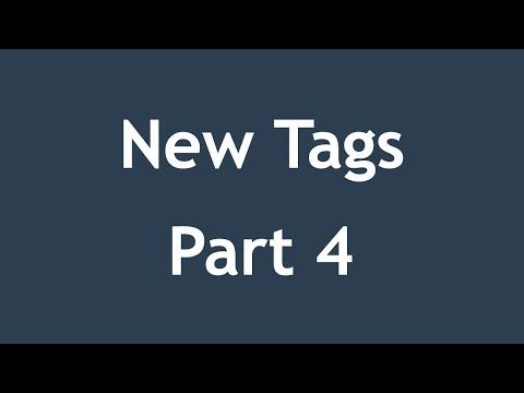 [ Html5 In Arabic ] #11 - New Tags - Details, Mark, Wbr