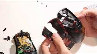 Как разобрать мышку A4Tech XL-740K