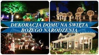 Dekoracja domu na święta bożego narodzenia