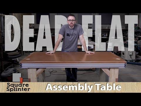 Super Flat and Strong Assembly Table - Exploring New Options