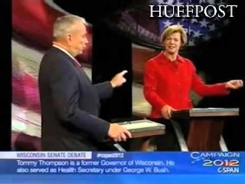 Tommy Thompson, Tammy Baldwin Spar Over Iran In Second Wisconin Senate Debate