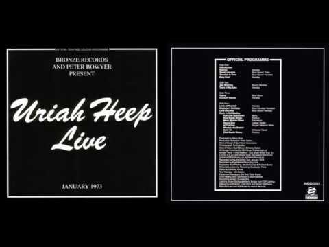 Uriah Heep -  Live  1973  (full album)