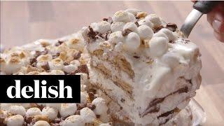 How To Make SMores Icebox Cake  Delish