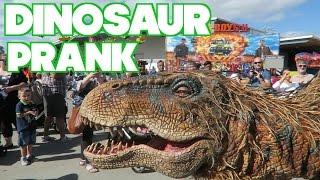 epic dinosaur prank video blog 222