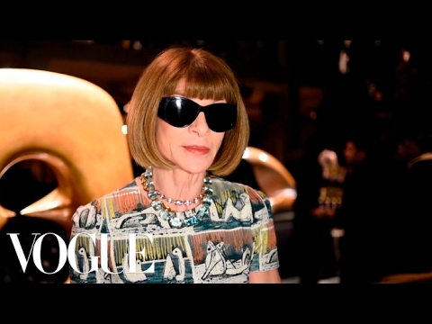 Anna Wintour on the Trends of London Fashion Week | Vogue. Http://Bit.Ly/2GPkyb3