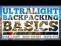 Lightweight Backpacking Basics - CleverHiker.com