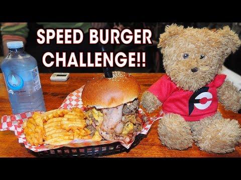 AUSTRALIAN BURGER HERO RECORD CHALLENGE!!