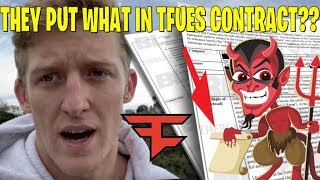 FAZE CLAN'S CONTRACT FOR TFUE *EXPOSED* ANALYSIS! GIVEAWAY fortnite highlights moments funny