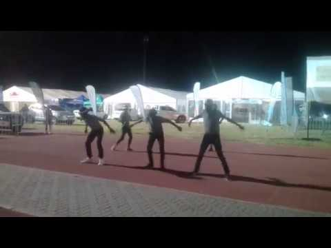 Legend twist performing at the oshakati toten expo 2018