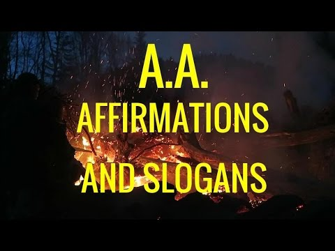 Alcoholics Anonymous: 300+ Affirmations and Slogans for Recovering AA