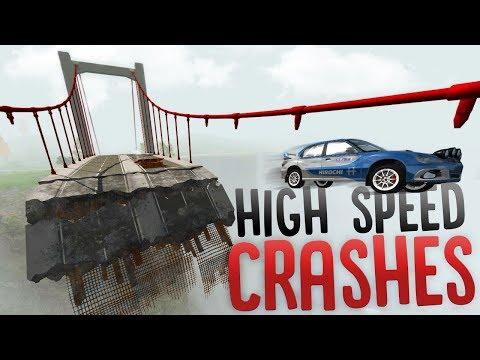 High Speed Vehicle Crashes - Wheel Grabber...