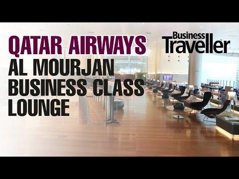 Qatar Airways Al Mourjan Business Class Lounge, Hamad Airport Qatar