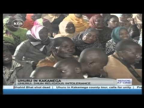 President Uhuru Kenyatta asures Muslims that there is no turning back on war against terror
