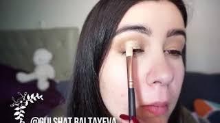 Günlik owadan makeup tutorial. Turkmen owadan gyzlarymyz üchin. Gulshat Baltayeva
