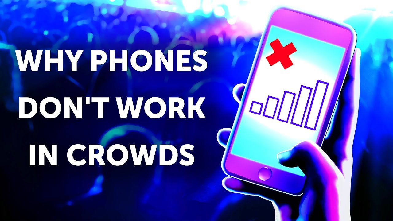It's Strange But Phones Don't Work In Crowds