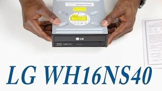 LG WH16NS40 Super Multi BluInternal SATA 16x Blu-ray Disc Rewriter UNBOXING