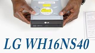 LG WH16NS40 Super Multi BluInternal SATA 16x Blu-ray Disc Rewriter UNBOXING