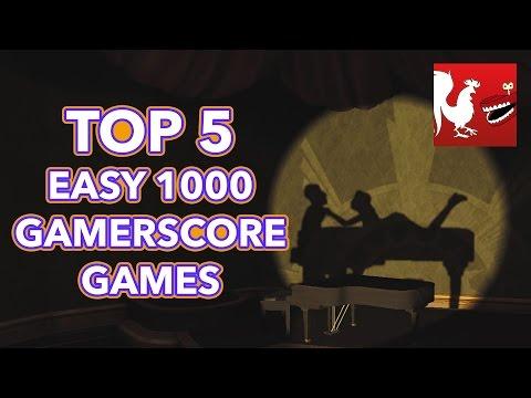 Top 5 Easy 1000 Gamerscore Games