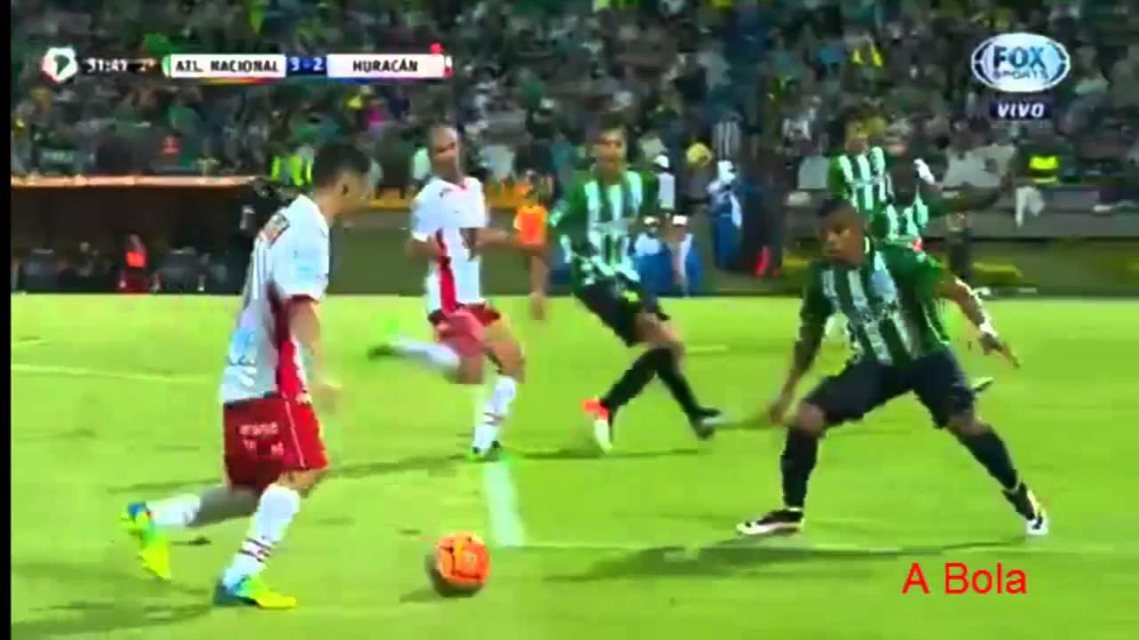 Libertadores 2016 Atletico Nacional x Huracan - Golaço Ábila