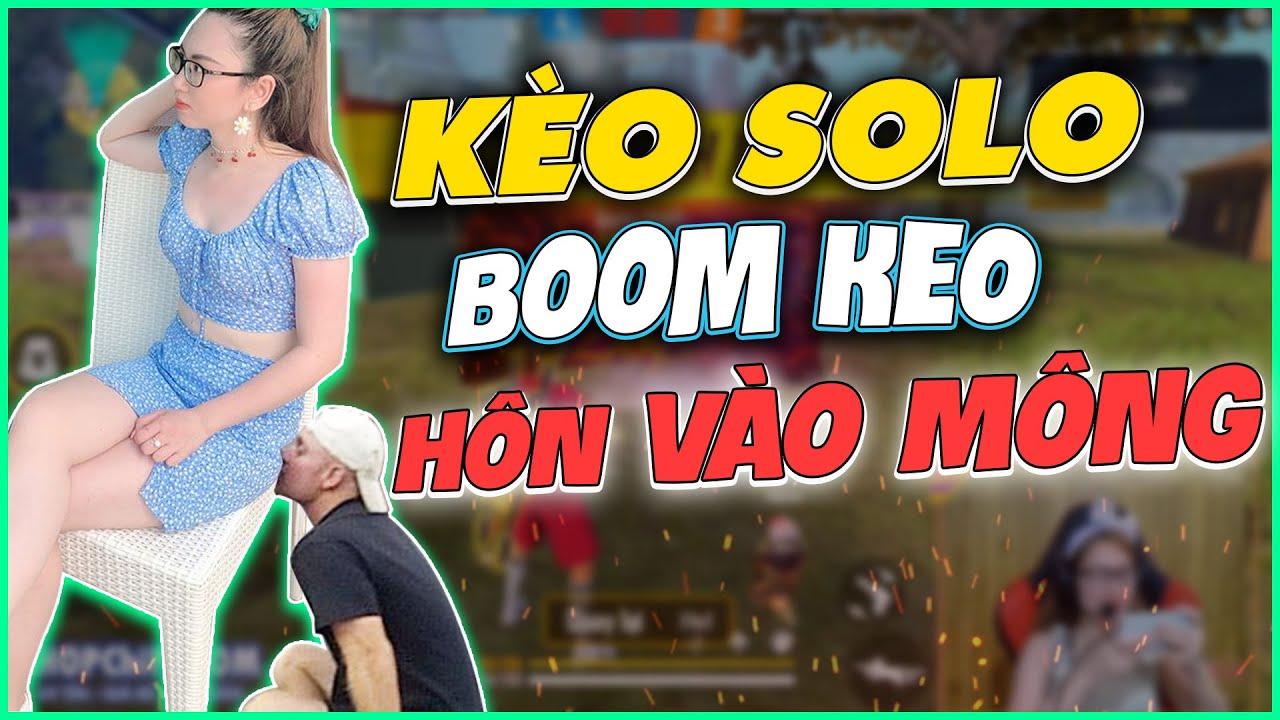 [Free Fire] Vợ Chồng Chipi Solo Bom Keo Ai Thua Phải Hôn Vào Mông – Chipi Gaming