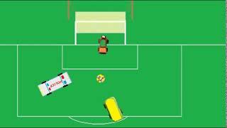 Смешные машины играют в футбол Хороший пенальти для детей Португалия Украина 0 1 Супер гол