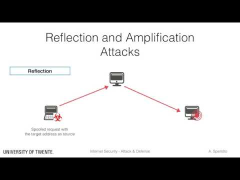 DDoS, Reflection and Amplification - DDoS Concepts