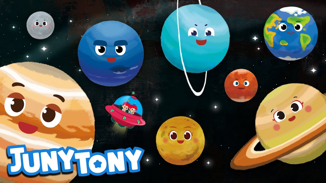 The Eight Planets | Space Song for Kids | Solar System | Planet Song | Science Song | JunyTony