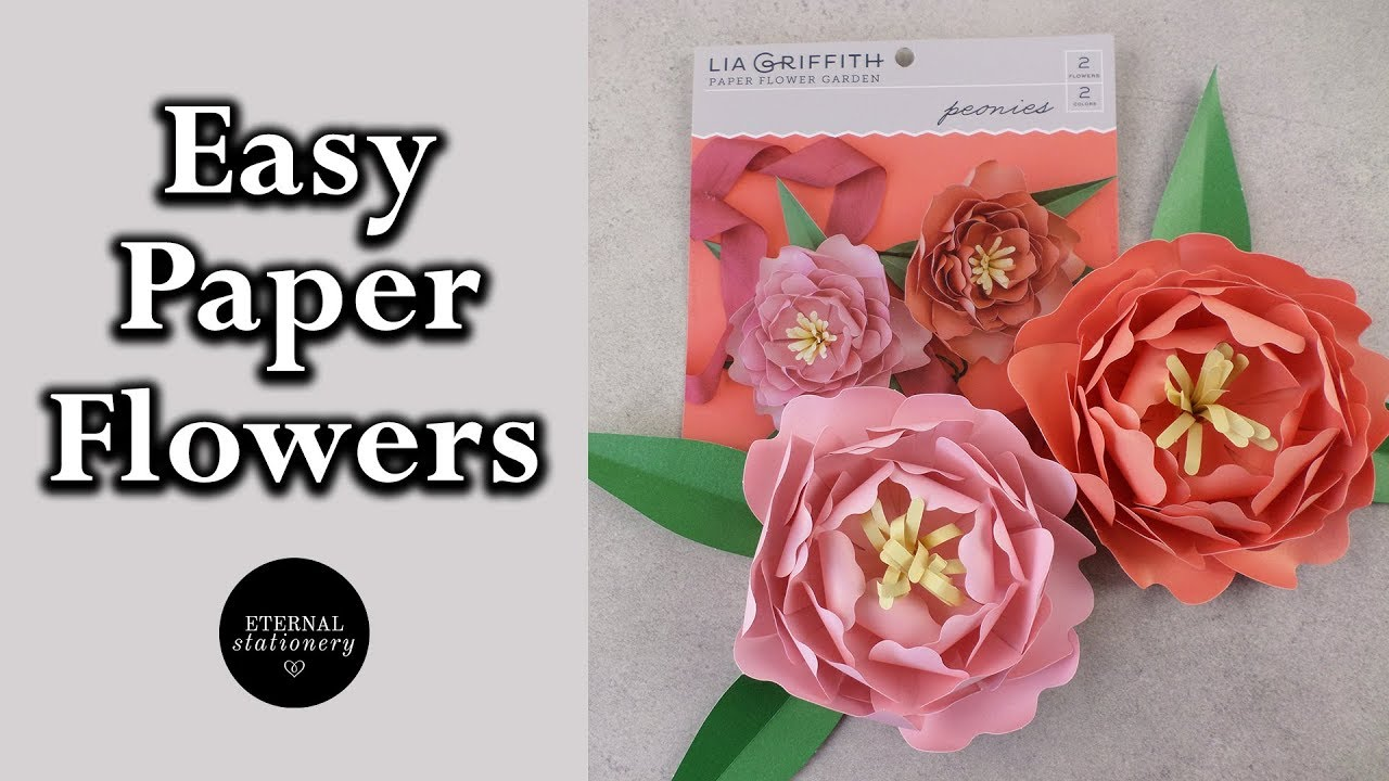 Quick And Easy Diy Paper Flower Tutorial Eternal Stationery