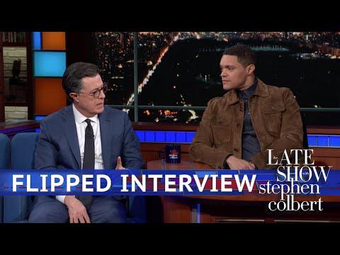 Trevor Noah s Stephen Colbert