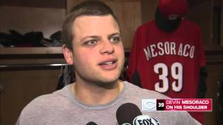 Devin Mesoraco headed back to the disabled list