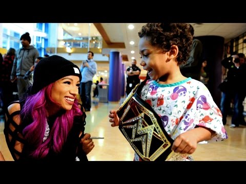 WWE Superstars visit the Children's Hospital of Pittsburgh