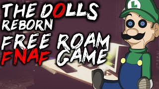 FREE ROAM FNAF GAME - OVERNIGHT - I DON'T LIKE THIS JOB :( - Vloggest