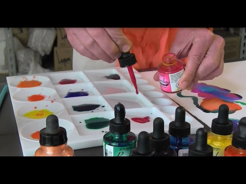 "Carissa Luminess on ""The Advantages of Using India Inks Over Watercolors"""