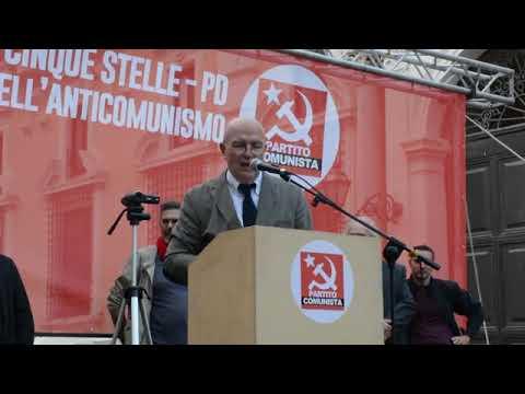 ROME - Marco Rizzo Rips EU Parliament's Anti-communist Resolution (Italiano)