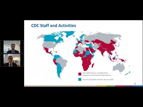 Webinar: Global Health at the Centers for Disease Control and Prevention (CDC)