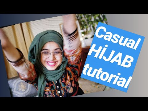 Casual Hijab Tutorial Using Crinkle cotton | Lifestyle | Aisha S thumbnail