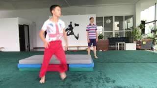 Basic wushu jump