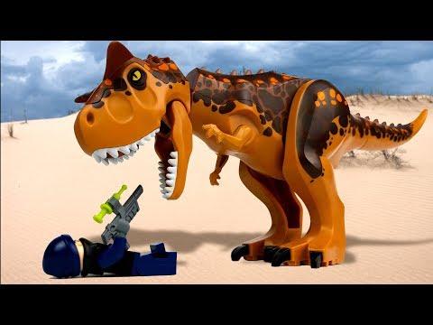 LEGO Jurassic World 🔴 Indoraptor vs Indominus Rex - 3 🦖