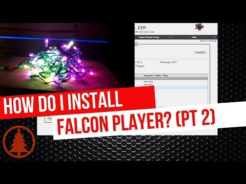 Using FPP (Falcon Player) To Output To Pixels
