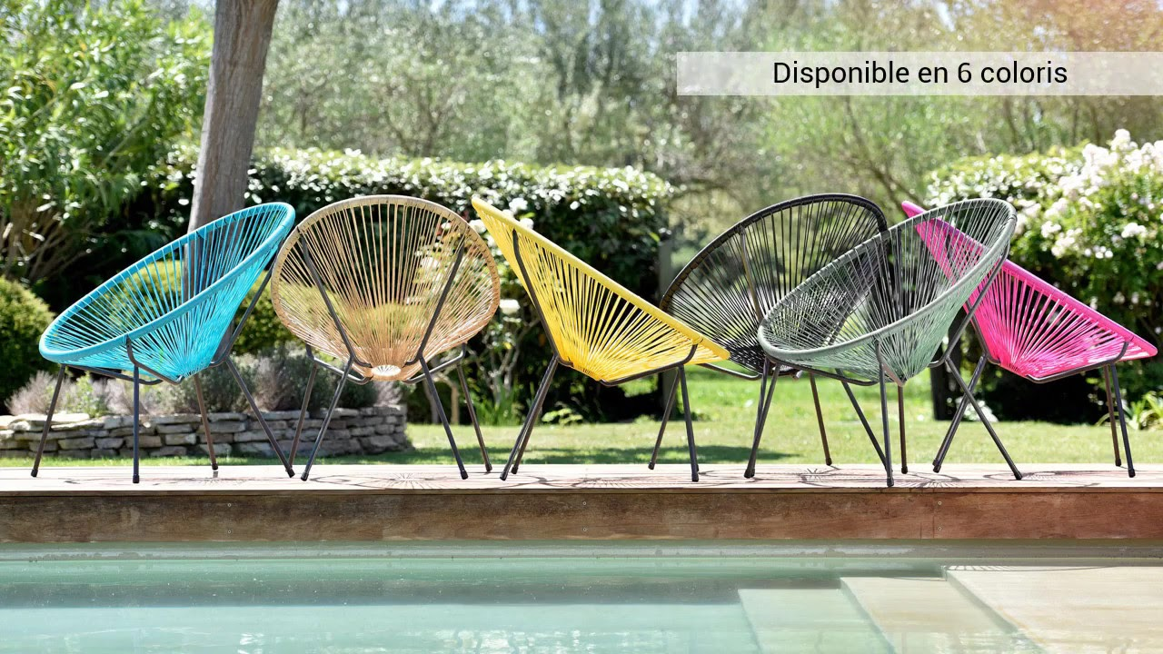 Salon De Jardin Leger oogarden - les fauteuils honolulu