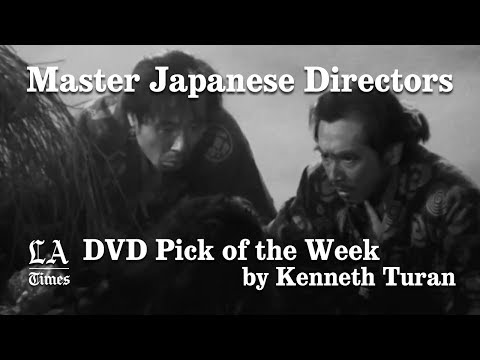 Kenneth Turan's DVD Pick of the Week – Master Japanese Directors