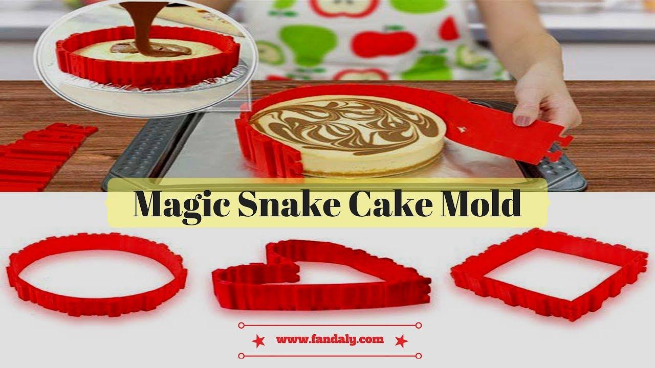 Fantastic Silicone Cake Mold Bake Snake Youtube