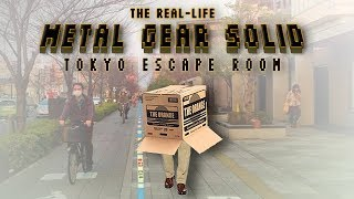 What it's Like at the Metal Gear Solid Escape Room in Tokyo
